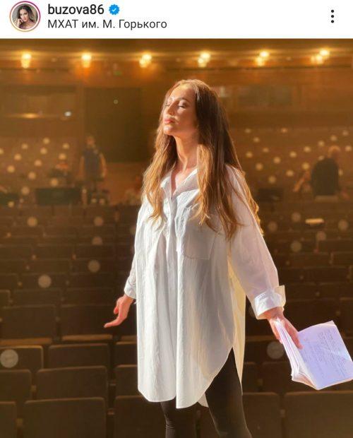 Спасет Сталина в спектакле: Бузова стала актрисой МХАТ имени Горького