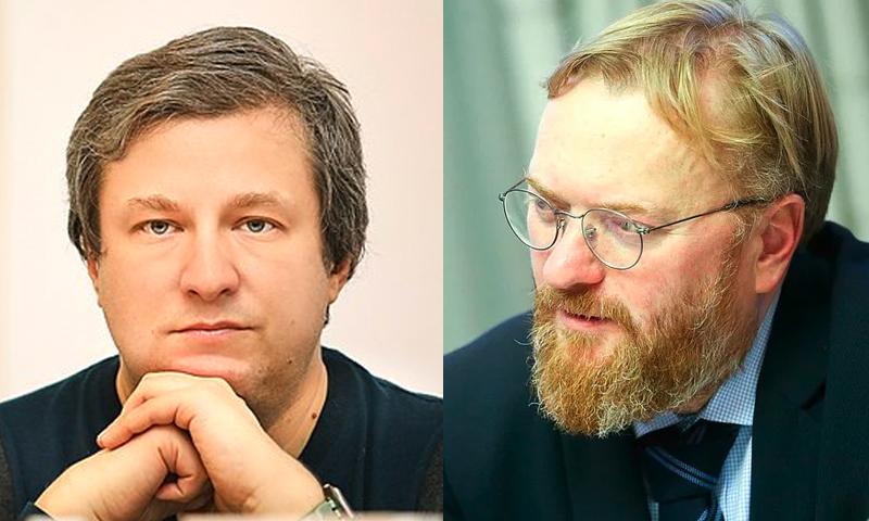 Высокомерие кинокритика Долина не осталось без внимания депутата Милонова