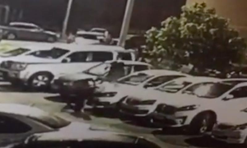 Убийство полицейского в Ставрополе попало на видео