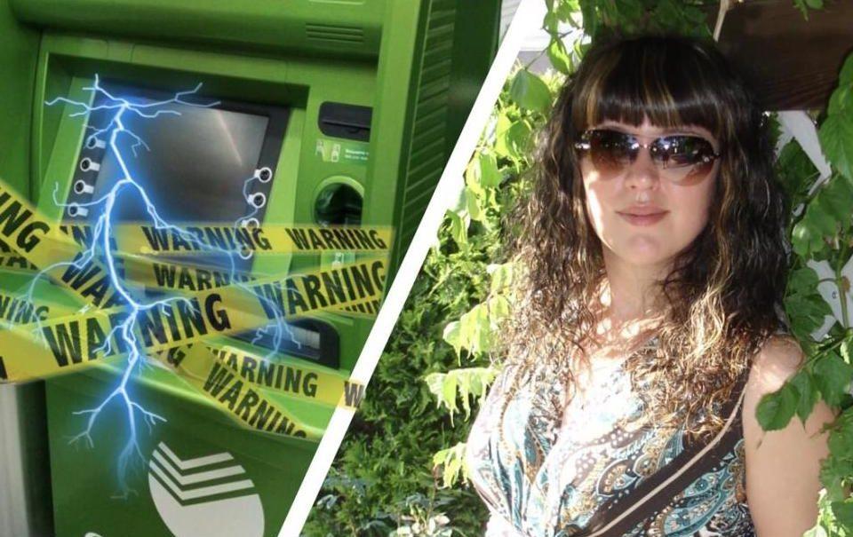 Банкомат Сбербанка ударил током жительницу Новороссийска