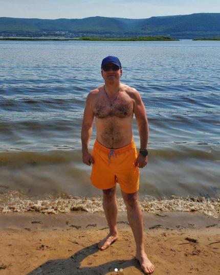 Губернатор Самарской области Дмитрий Азаров. Фото из соцсети Инстаграм Дмитрия Азарова