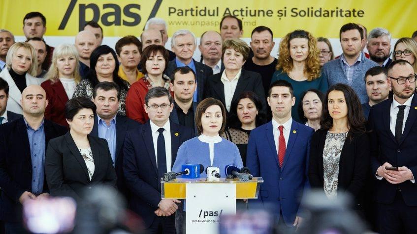 На выборах в парламент Молдавии победила партия президента Майи Санду