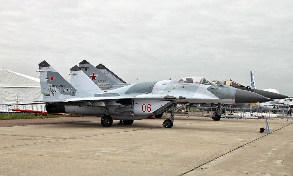 Истребитель МиГ-29 разбился в Астраханской области