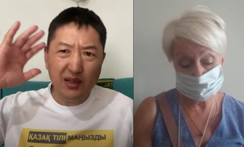 В Казахстане националисты насильно заставляют отказаться от русского языка