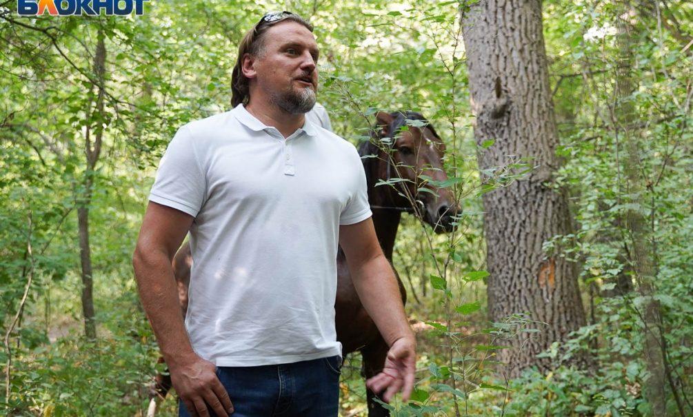 Дмитрий Булыкин приехал в Волгоград спасать вековые дубы от вырубки и посетил детский дом милосердия