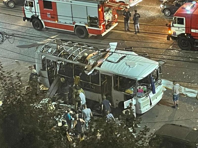 Газ или теракт? Всё, что известно о взрыве воронежского автобуса