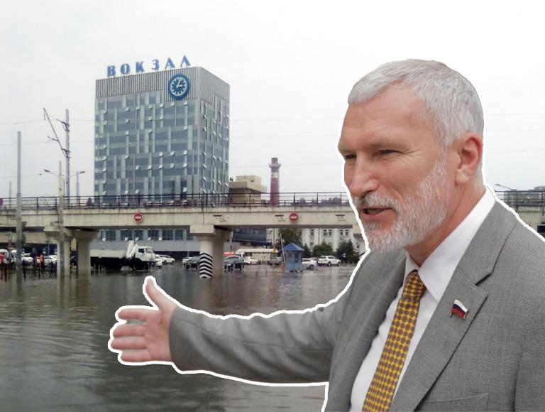 Лидер партии «Родина» Алексей Журавлёв потребовал от мэра Ростова заняться городом, а не Румынией