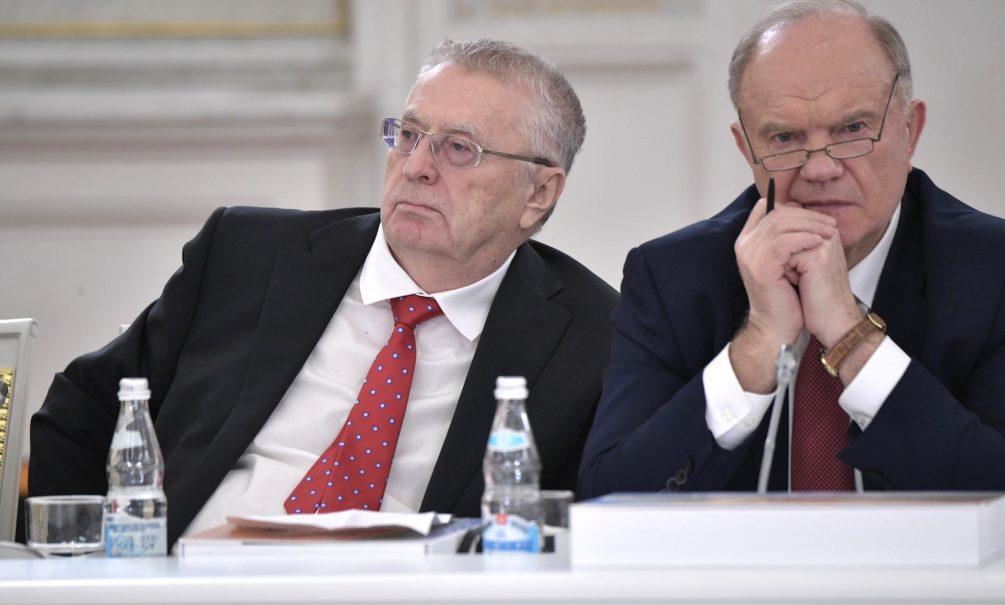 Уедут в имения, станут сенаторами: политолог рассказал о будущем Зюганова и Жириновского