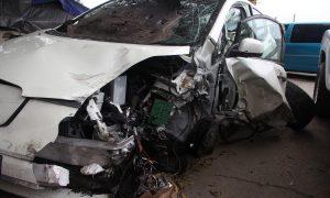 Пьяный полицейский начальник после охоты устроил ДТП и сбежал с места аварии, бросив ружье