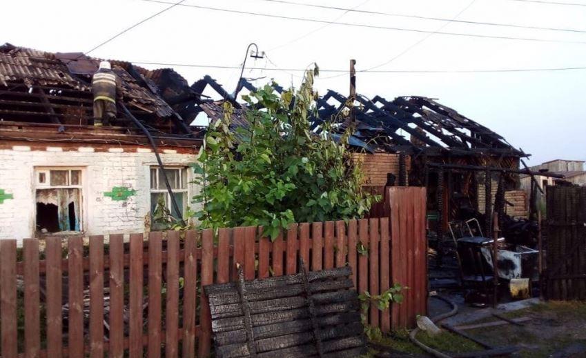 Пожар в Курганской области унес жизни пяти человек