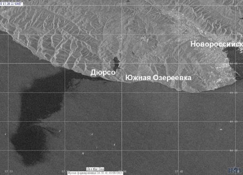 Разлив нефти в Новороссийске оказался в 400 тысяч раз больше заявленного