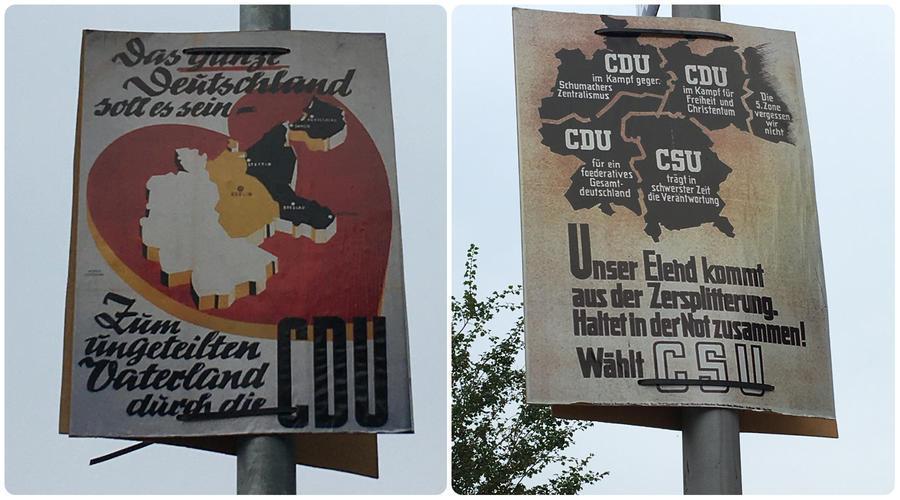 В довоенных границах: в Германии разразился скандал из-за плакатов с Калининградской областью в составе страны