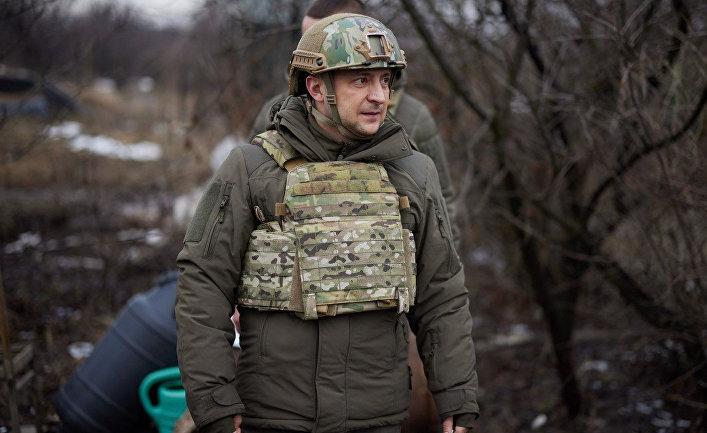 Президент Украины допустил возможность полномасштабной войны с Россией