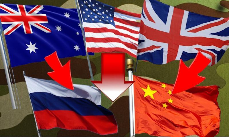 США создали новый военный альянс с Великобританией и Австралией. И нацелили его на  Россию и Китай
