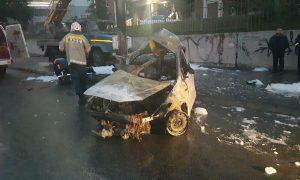 Страшная смерть: в Новосибирске трое человек сгорели заживо в машине после ДТП