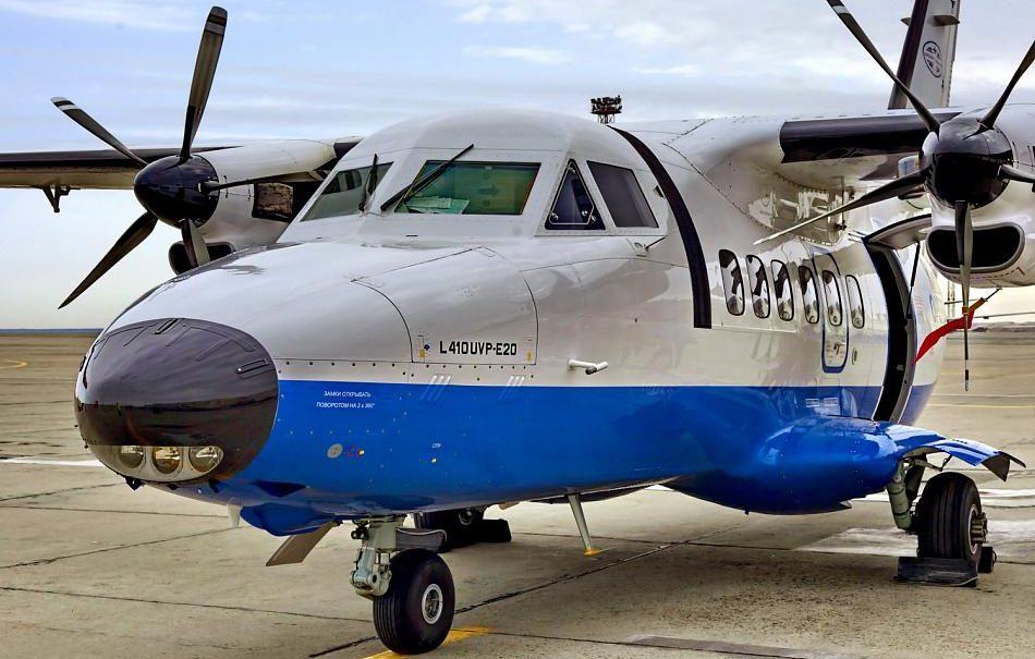 В Иркутской области разбился пассажирский самолет L-410