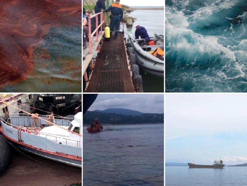 Семь крупных разливов нефти произошло на Кубани за полгода
