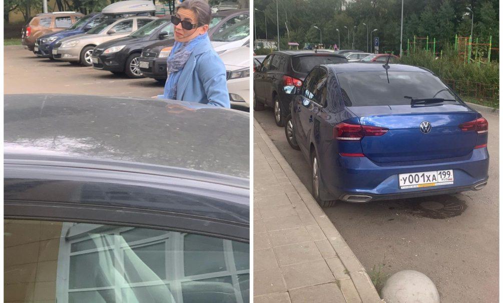 «Это ваши проблемы»: лихая автомобилистка едва несбила московскую журналистку ичлена Совета при Президенте РФВинокурову