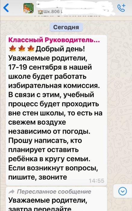 «Мыдолжны гулять порайону»: вмосковской школе ради выборов детей собирались выгнать наулицу