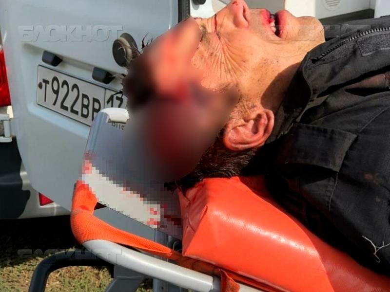 Опубликовано видео задержания мужчины, убившего семью и подорвавшего здание полиции в Воронежской области