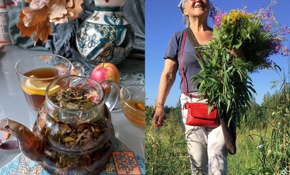 Ученица известного травника открыла секрет восстанавливающего постковидного чайного сбора