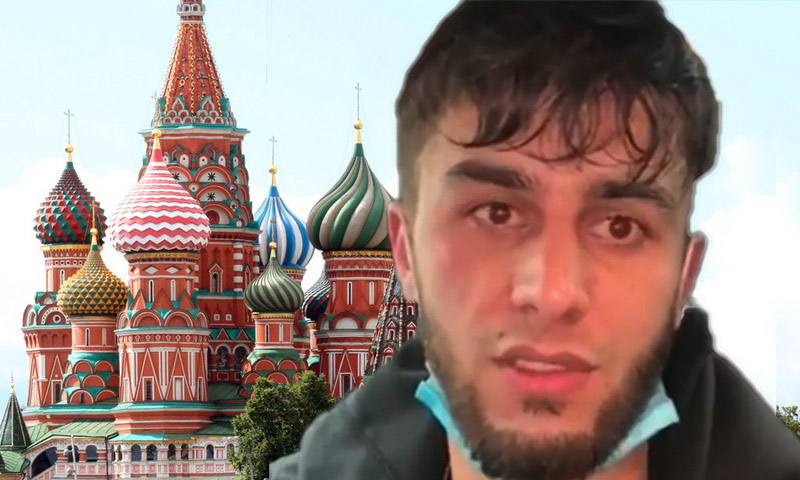 Таджикский блогер извинился за фотосессию у  храма Василия Блаженного