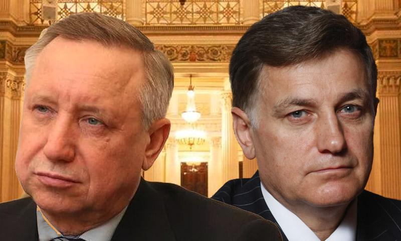 Беглов и Макаров поделили сферы влияния в Заксобрании Петербурга