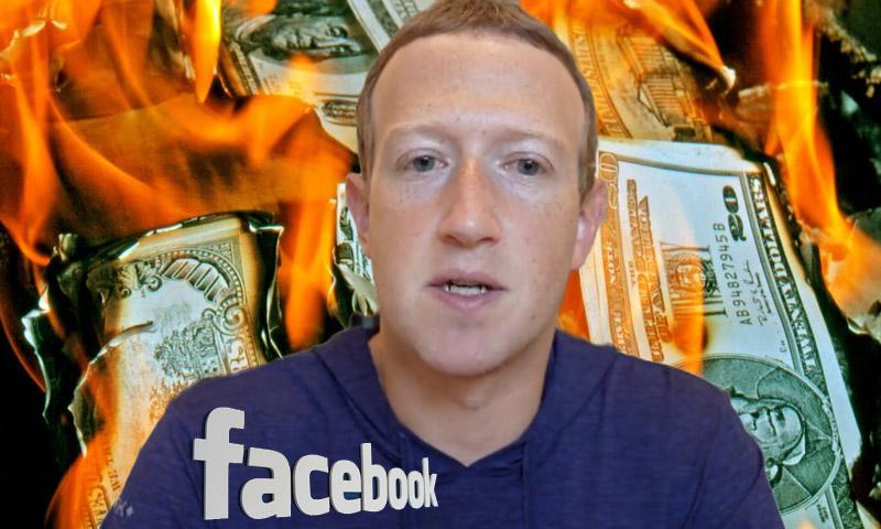 Из-за масштабного сбоя соцсетей Марк Цукерберг потерял более $6 млрд