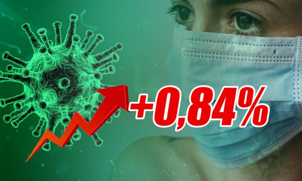 Динамика коронавируса на 8 октября