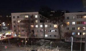 Два этажа жилого дома уничтожил взрыв в Набережных Челнах