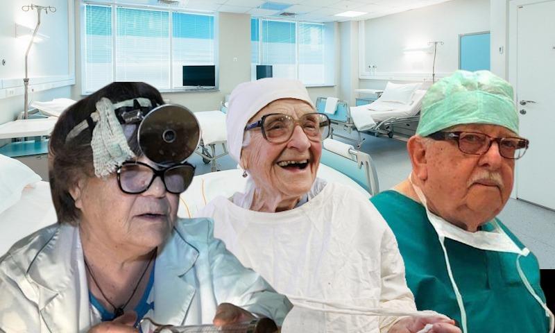 В бой идут старики: в России мобилизуют врачей-пенсионеров
