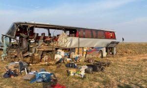 В Калмыкии погибли шесть человек после столкновения