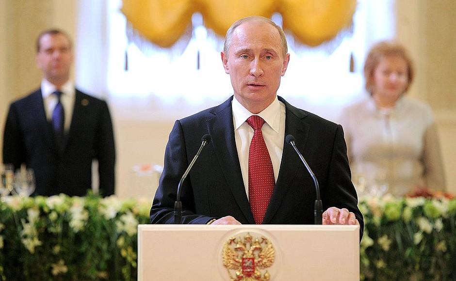 Путин рассказал, сколько еще будет президентом