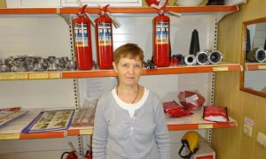 Воронежская уборщица спасла из горящего дома мужчину без ног