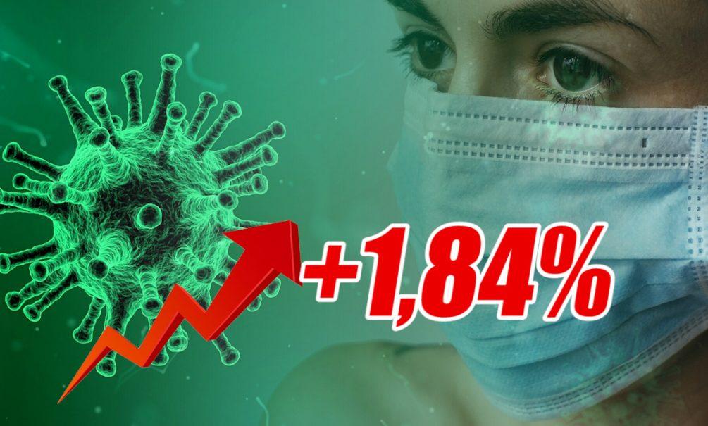 Динамика коронавируса на 11 октября