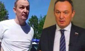 «Вы, умники, совсем располосовались»: на бывшего депутата Госдумы завели уголовное дело за нападение на полицейских