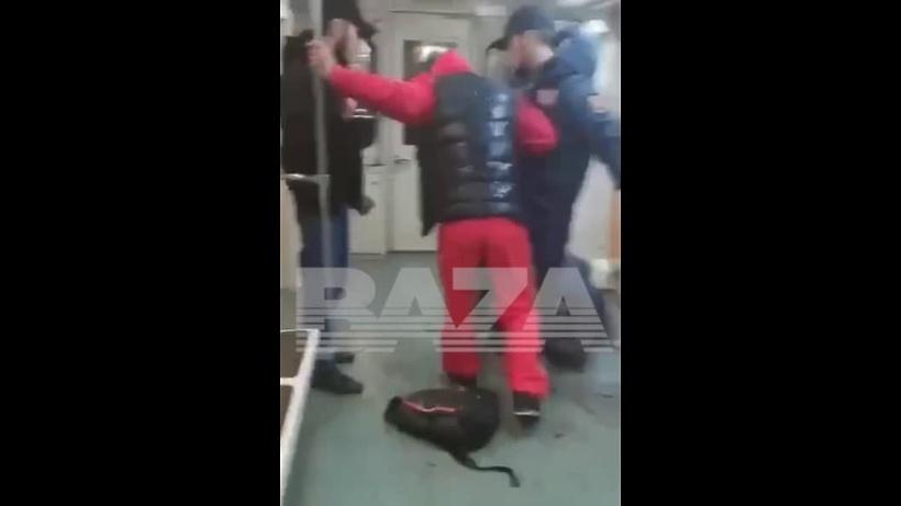 Видео: дагестанцы устроили кровавую бойню в московском метро
