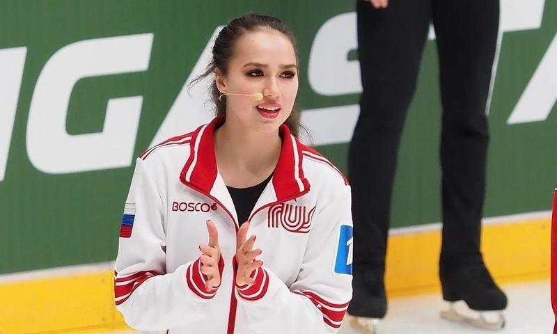 «Я вас засужу, у меня связи!»: 19-летняя фигуристка Алина Загитова требует удалить ее фотографии