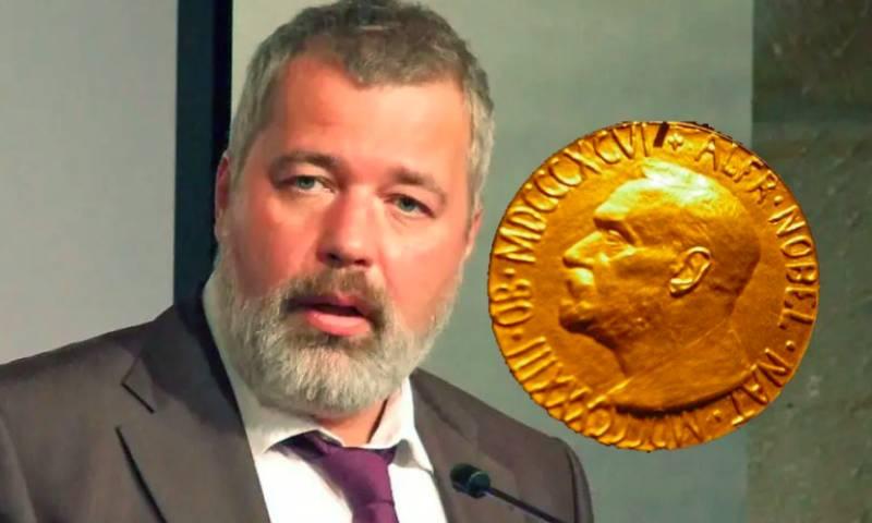 Дослужился: главный редактор «Новой газеты» получил Нобелевскую премию мира
