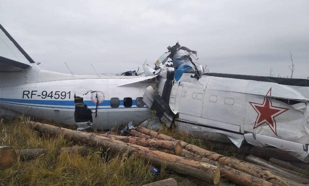 Шесть человек выжили при крушении самолета в Татарстане