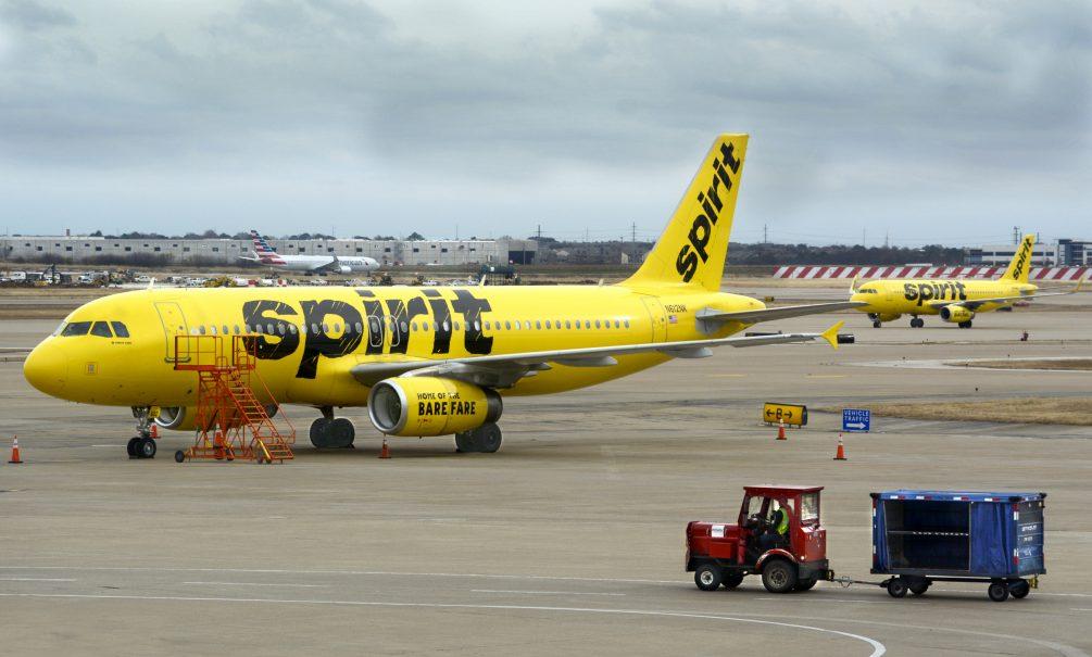 Видео: в аэропорту США из-за птицы загорелся самолет с пассажирами на борту